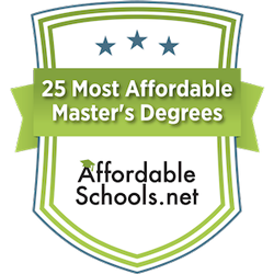 Most Affordable Badge Master of Education