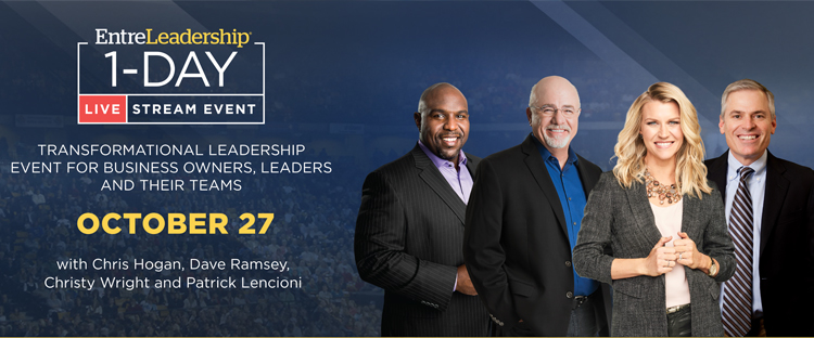 EntreLeadership Livestream Event